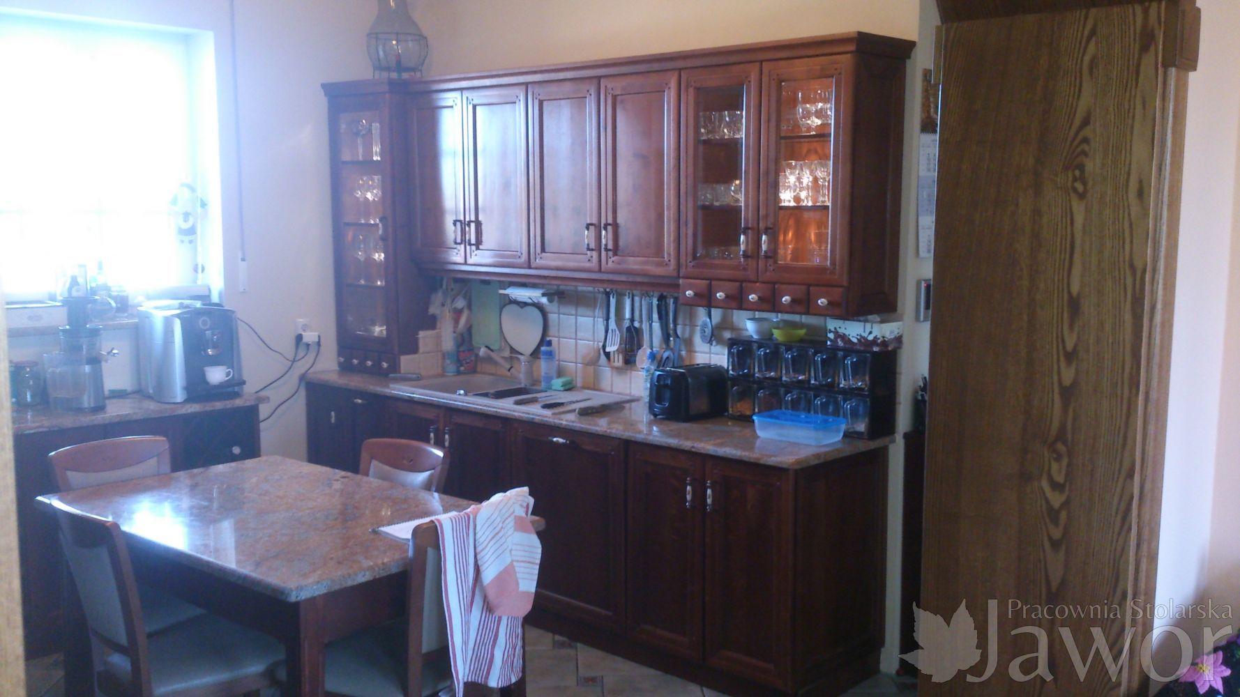 Meble Kuchenne Trójmiasto  Pracownia Stolarska Jawor -> Kuchnia Weglowa Z Podkową Jawor